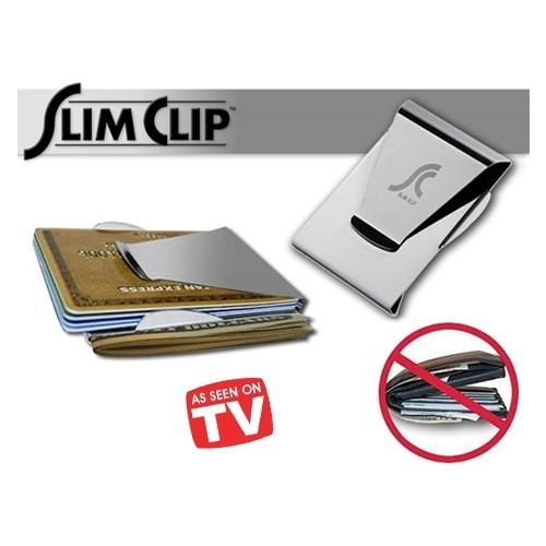 Original Boutique Slim Clip Çelik Para Ve Kredi Kartı Cüzdanı