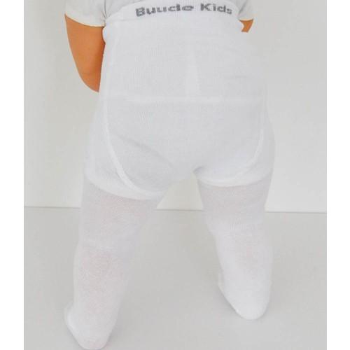 Kids Buude 5007 Bebek Külotlu Çorap 6-12 Ay