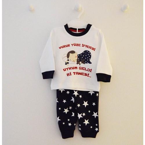 Babycool 2894 Vurur Yüze İfadesi Bebek Pijama Takımı