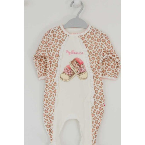 Baby Center 4441 My Favorites Kız Bebek Patikli Tulum