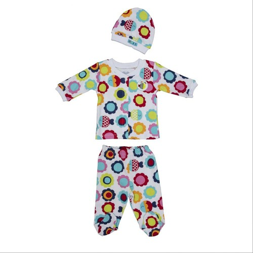 Bebepan 1731 Mrs. Fish Kız Bebek Pijama Takımı