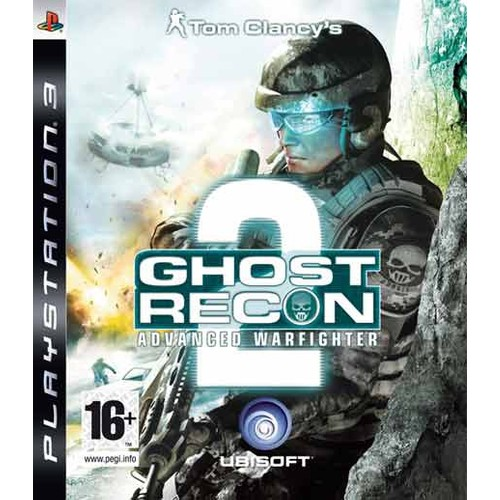 Ubisoft Ps3 Ghost Recon 2 Advanced Warfighter