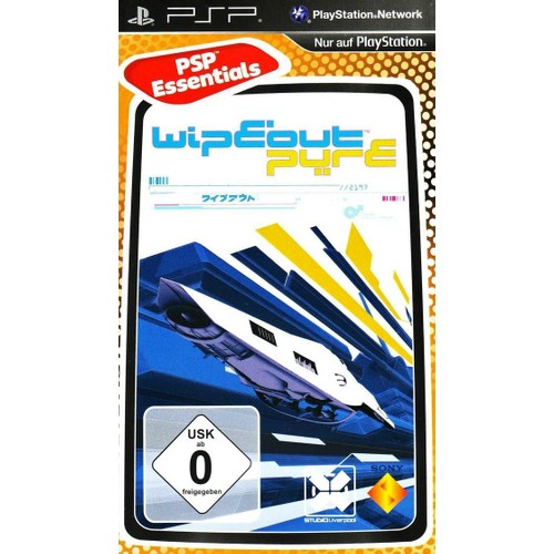 Sony Psp Wipeout Pure