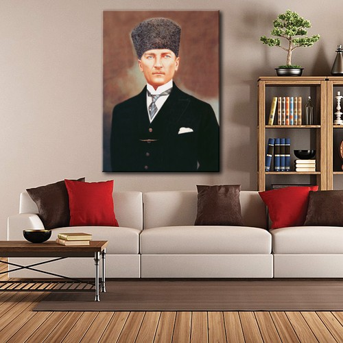 Tablom Atatürk Portre Kanvas Tablo