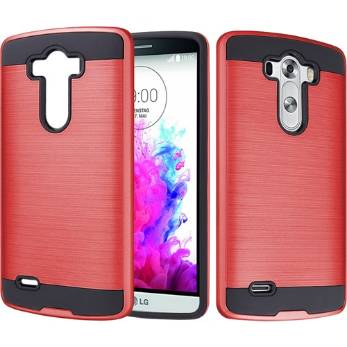 CaseUp LG G3 Kılıf Çift Katman Korumalı Cam