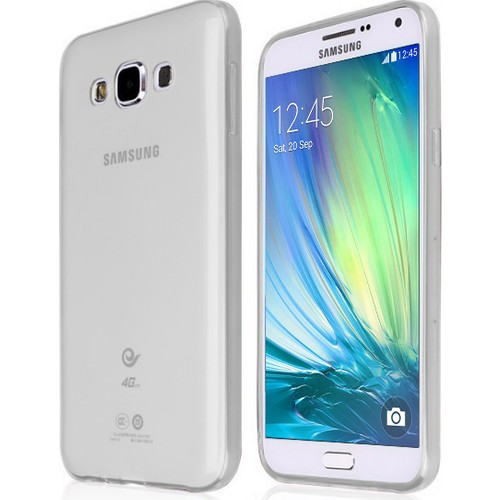 CaseUp Samsung Galaxy A5 Kılıf İnce Silikon Kırılmaz Cam