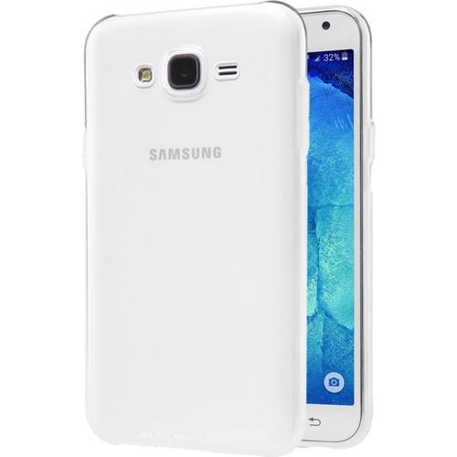 CaseUp Samsung Galaxy J7 Clear Soft Şeffaf kılıf Kırılmaz Cam
