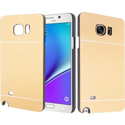 CaseUp Samsung Galaxy Note 5 Kılıf Metal Korumalı Kırılmaz Cam