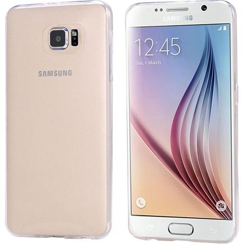 CaseUp Samsung Galaxy S6 Kılıf İnce Silikon Cam