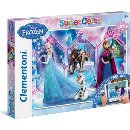 Clementoni Puzzle 104 + Web Uygulamalı Frozen