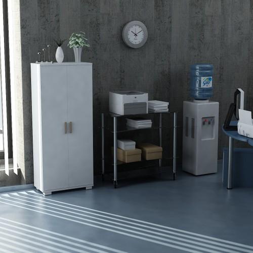 Sanal Mobilya Sorrento Çok Amaçlı Ofis Dolabı G3-K9