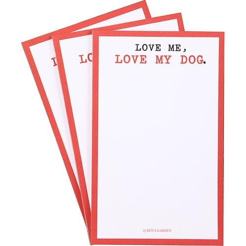 Beymen Home Ben'S Garden Love MeLove My DogS3 Kırmızı Not Defteri