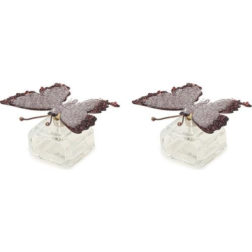 Beymen Home Turnwald Napkinring Butterfly Crystal Mor Peçetelik