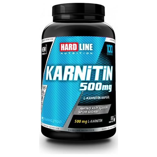 Hardline Nutrition Karnitin 100 Kapsül