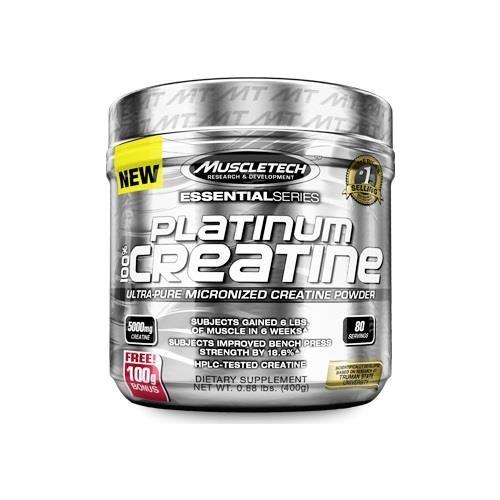 Muscletech Platinum 100% Creatine Powder 400 G