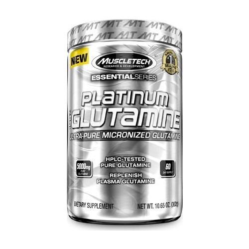 Muscletech Platinum 100% Glutamine Powder 302 G