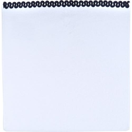 Beymen Home 50X100(Lacivert) DalgalıBaş Beyaz Havlu
