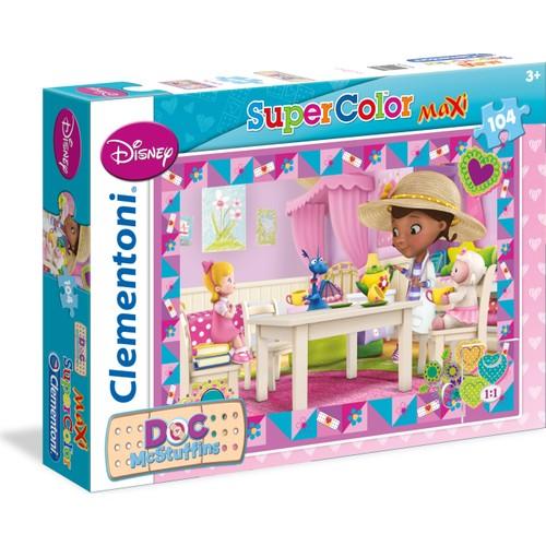 Clementoni Doktor Mcstuffins Puzzle (101 Parça Maxi Boy)