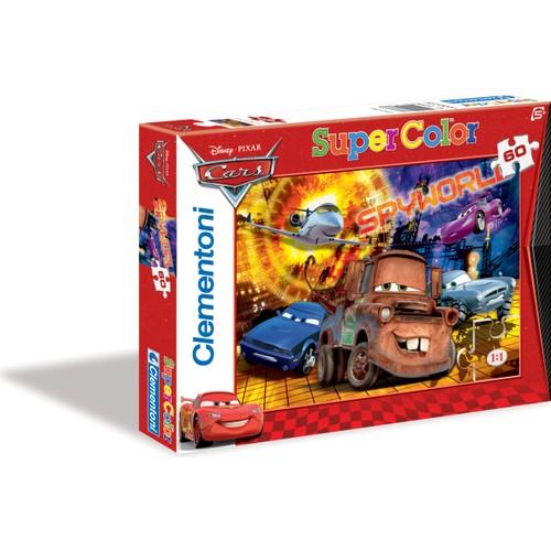 Clementoni 60 Parça Puzzle Cars Spyworld