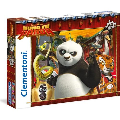 Clementoni 26941 Kung Fu Panda 60 Parça Çocuk Puzzle