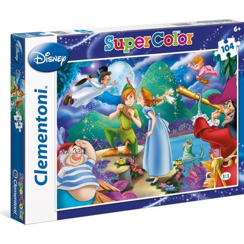 Clementoni 104 Parça Peter Pan Çocuk Yapboz / Puzzle