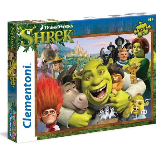 Clementoni 27943 104 Parça Shrek Puzzle