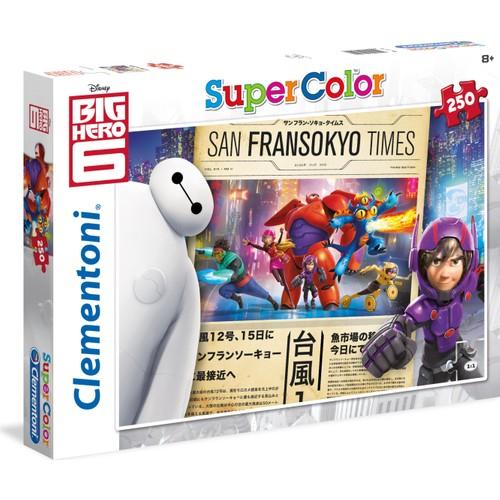 Clementoni 250 Parça Big Hero 6 İyi Haber Puzzle