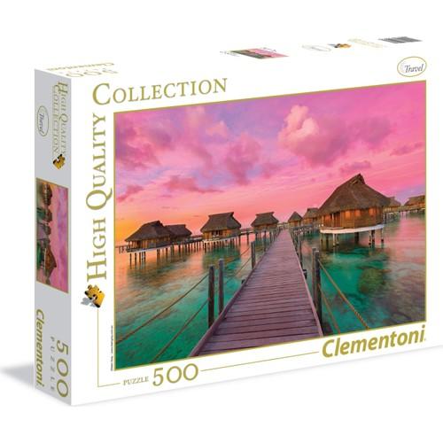 Clementoni 500 Parça Renkli Cennet Puzzle (35016 Hqc)