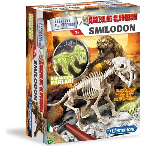 Clementoni Gece Parlayan Arkeolojik Kazı Seti Similodon
