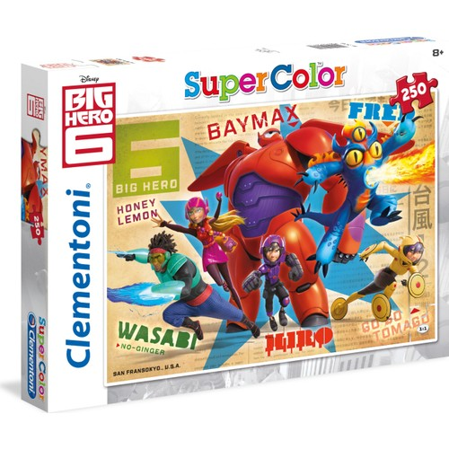 Clementoni 250 Parça Thrusters On Big Hero 6 Puzzle