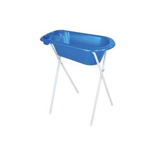 Babyhope 508 Gidersiz Bebe Banyo Küveti - Koyu Mavi