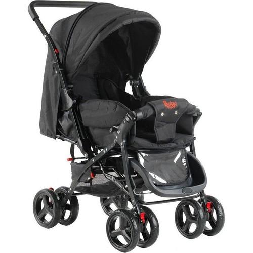 Babyhope 603-05 Tam Yatabilen Bebek Arabası - Siyah