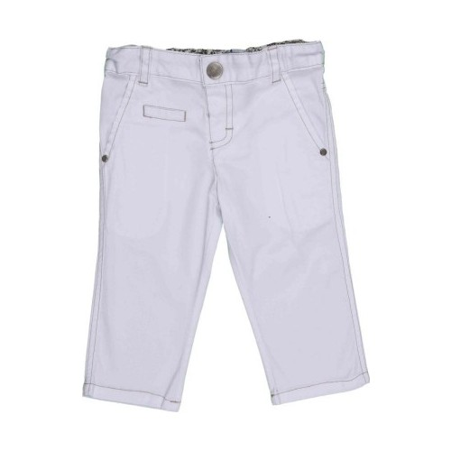 Bebepan Surf Pantolon Beyaz 3-6 Ay