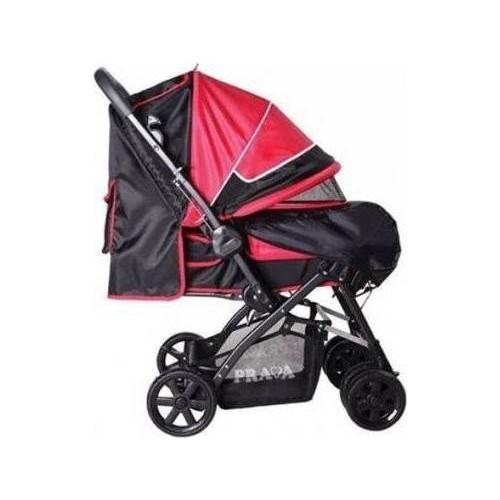 Prava Deluxe Bebek Arabası - Kırmızı