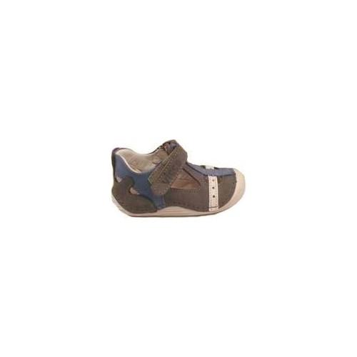 Vicco Bebe İlk Adım Deri Ayakkabı 918.U.012 Gri / 20