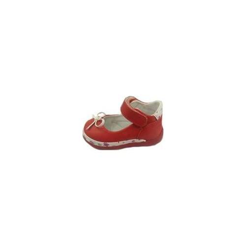 Vicco Bebe İlk Adım Deri Ayakkabı 918.U.018 Kırmızı / 19