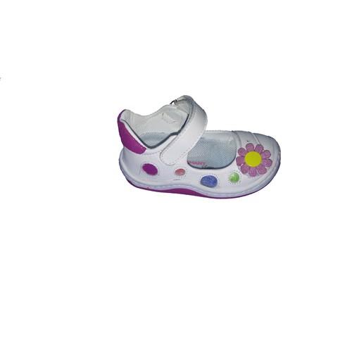 Vicco Bebe İlk Adım Deri Ayakkabı 918.U.031 Beyaz / 19