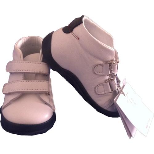 Vicco Bebe İlk Adım Deri Ayakkabı 918.Y.020 Beyaz / 19