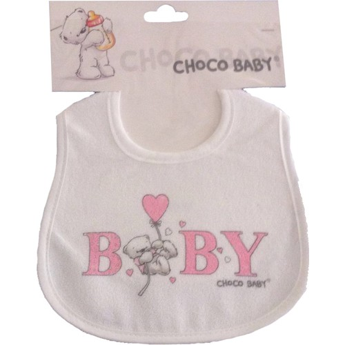 Chocobaby 1005 Bebek Mama Önlüğü Çift Kat Lamineli