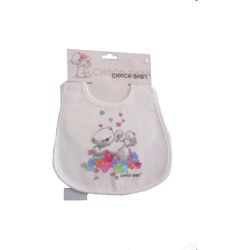Chocobaby 1011 Bebek Mama Önlüğü Çift Kat Lamineli