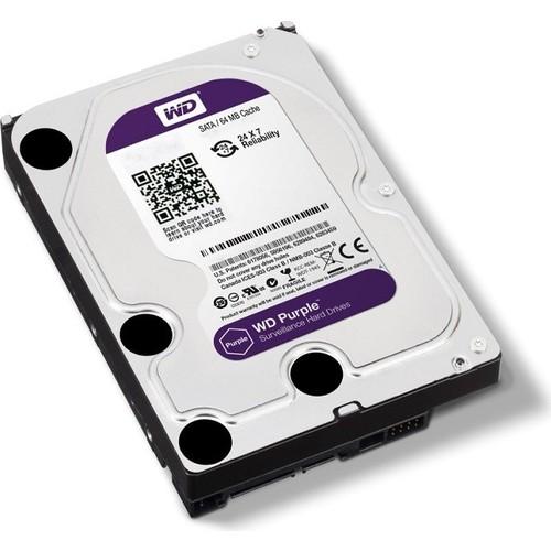 """Wd 4 Tb 3.5"""" intellipower Purple Av-Gp 64Mb Sata Wd40Purx"""