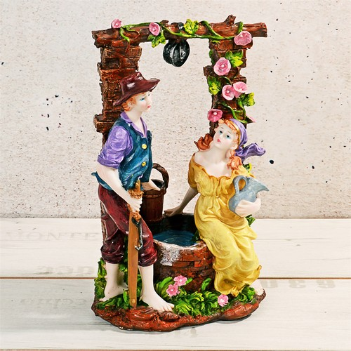 iHouse 54021 Dekoratif Biblo Bronz