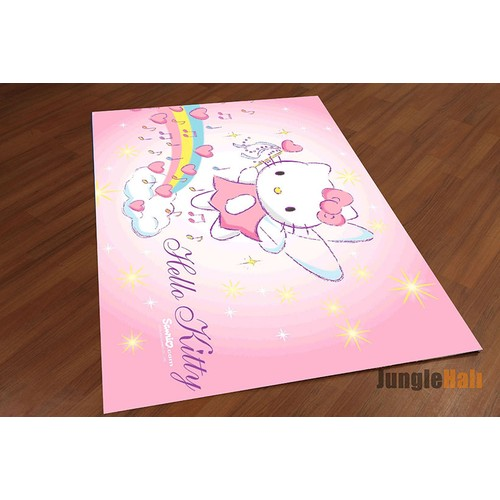 Jungle Hello Kitty Çocuk Halısı