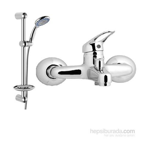 Erce Banyo Bataryası + Sürgülü Duş Takımı