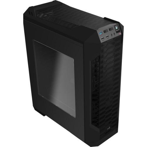 Aerocool LS5200 Usb 3.0 Mid Tower Siyah Oyuncu Kasası (AE-LS5200-BLK)