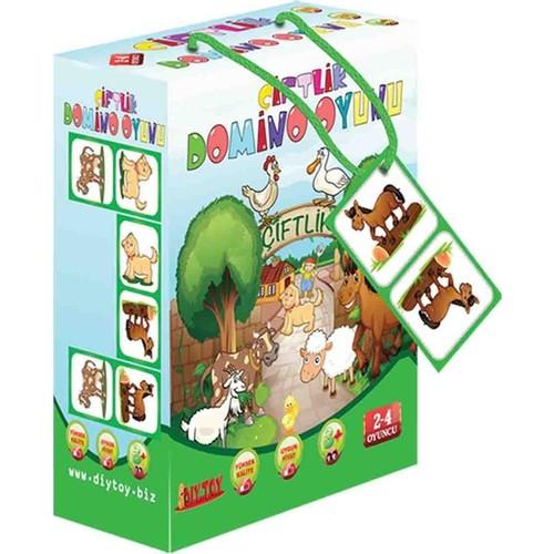 Dıytoy 2778 Çiftlik Domino Oyunu Puzzle 28 Prç
