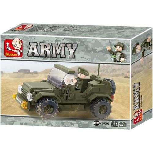 Sluban B0296 Askeri Jip 121 Parça