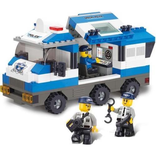 Sluban B0188 Özel Tim Polis Aracı 253 Parça
