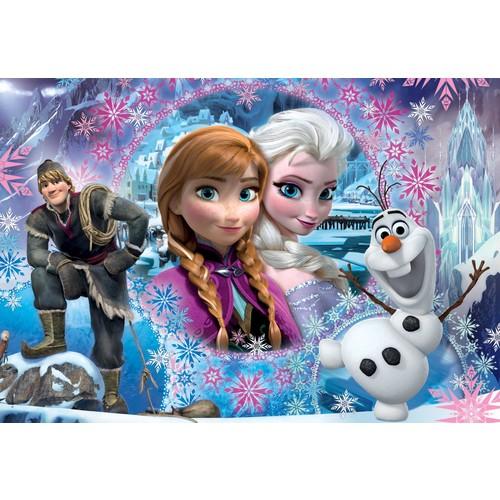 Clementoni Karlar Ülkesi ( Frozen ) 2 - 104 Parça Çocuk Puzzle