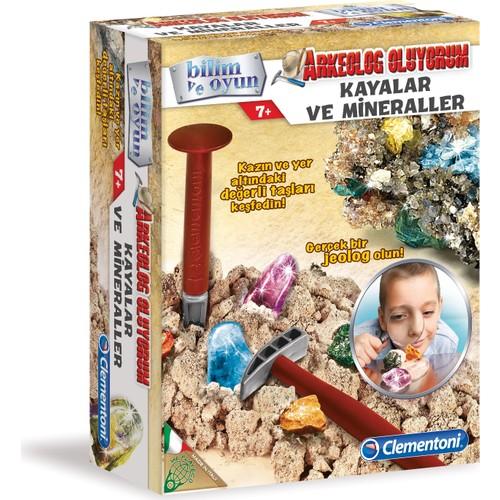 Clementoni Arkeolojik Kazı Seti - Kayalar Ne Minareller +7 Yaş